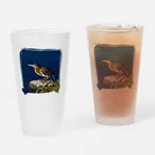 (16) Green-Backed Heron Drinking Glass