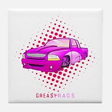 greasyrags3 Tile Coaster