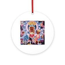I am erzuli Round Ornament