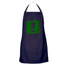 exclamation_gn_10x10 Apron (dark)
