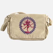 Natabara purple Messenger Bag