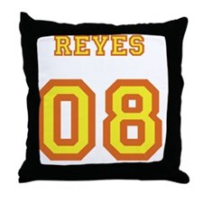 tshirt_lost_island_yellow_orange_reye Throw Pillow