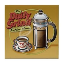 Daily Grind Tile Coaster