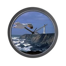 (4) lighthouse  seagull Wall Clock