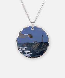 (4) lighthouse  seagull Necklace
