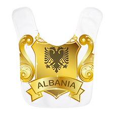 Gold Albania Bib