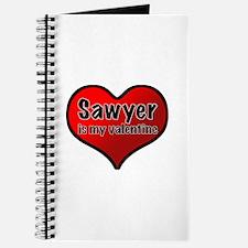 Sawyer is my Valentine Journal