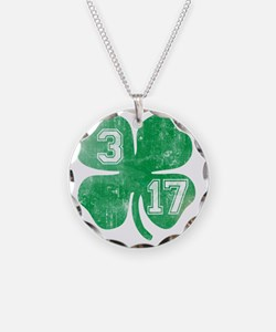 shamrock317 Necklace Circle Charm