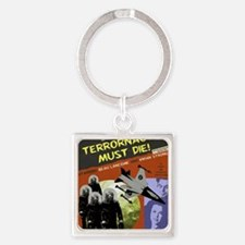 TERRORNAUTS Square Keychain