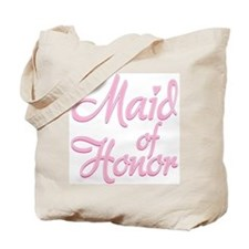 Amore Maid Honor Pink Tote Bag