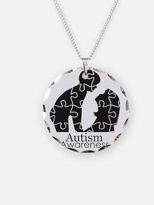 autismsilhouette Necklace