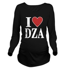 I Love Algeria Long Sleeve Maternity T-Shirt