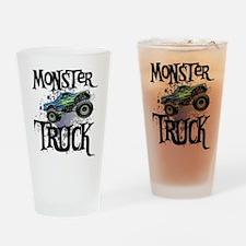 Monster_Truck_cp Drinking Glass