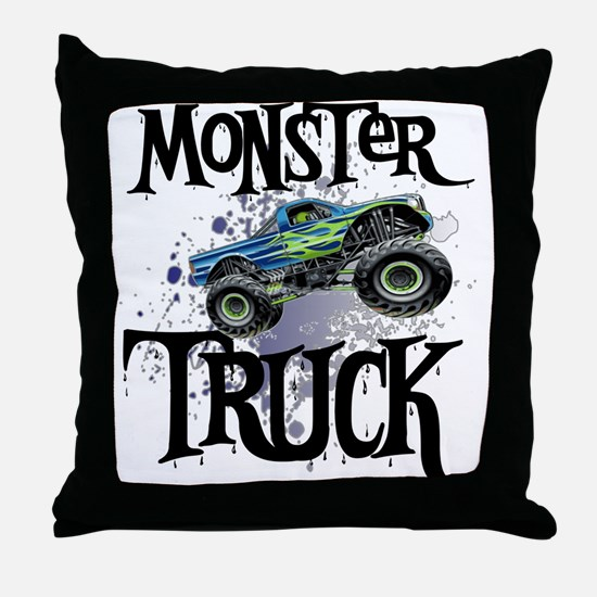 Monster_Truck_cp Throw Pillow