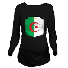 Algeria Coat Of Arms Long Sleeve Maternity T-Shirt
