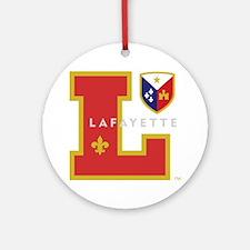 Cadien Lafayette Monogram Round Ornament