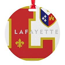 Cadien Lafayette Monogram Ornament
