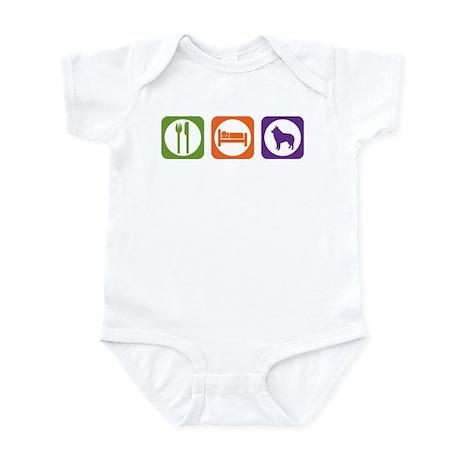 Eat Sleep Schipperke Infant Bodysuit