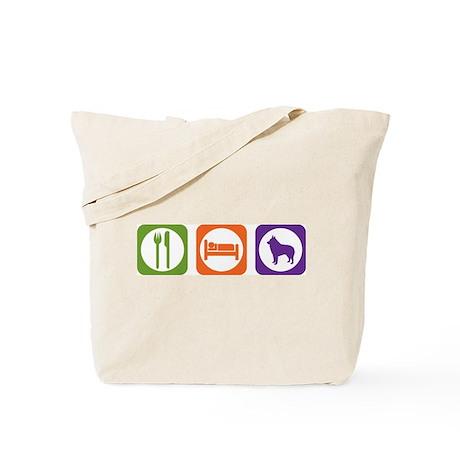 Eat Sleep Schipperke Tote Bag