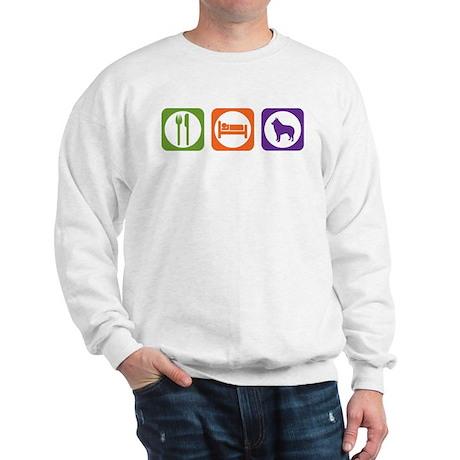 Eat Sleep Schipperke Sweatshirt