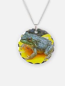 Leopard Frog Mousepad Necklace