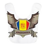 Andorra Emblem Bib
