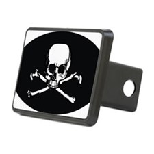 Skull  Crossbones (Oval 3. Hitch Cover