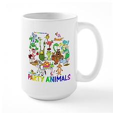 Party Animals Large Mug