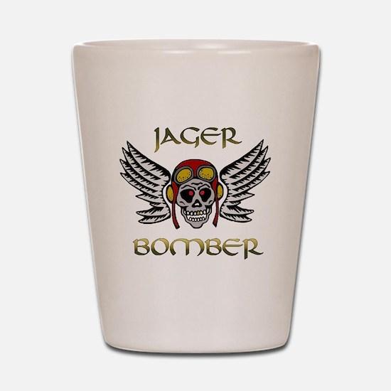 Bomber1 Shot Glass