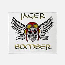 Bomber1 Throw Blanket