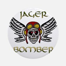Bomber1 Round Ornament