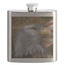 We_the_People_8inSq Flask