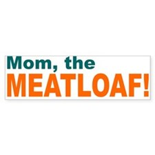 Meatloaf White Bumper Bumper Sticker