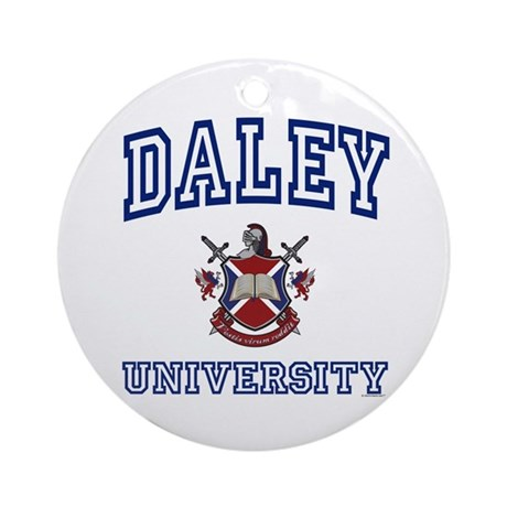 DALEY University Ornament (Round)