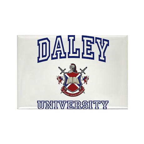 DALEY University Rectangle Magnet