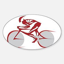 bicyclelogo.gif Sticker (Oval)