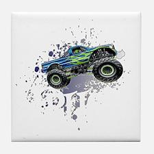 Monster_Truck_Light_cp Tile Coaster