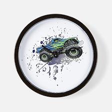 Monster_Truck_Light_cp Wall Clock