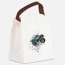 Monster_Truck_Light_cp Canvas Lunch Bag