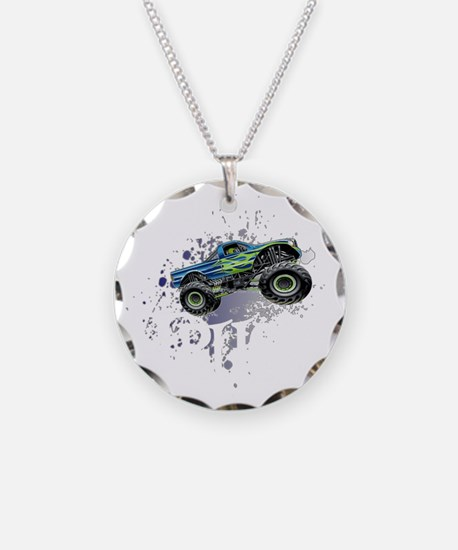 Monster_Truck_Light_cp Necklace