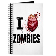 I LOVE ZOMBIES Journal