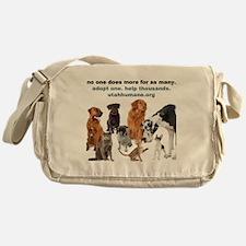 NOONEDOESMORE Messenger Bag