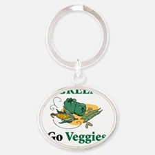 cooking 10x10 t-shirt 4 Oval Keychain