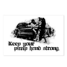 Keep Your Pimp Hand Strong Postcards (Package of 8