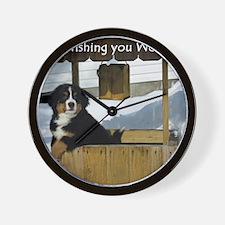 Wishing You Well Wall Clock
