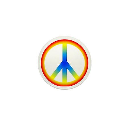 Peace Sign Mini Button