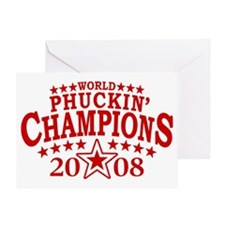 2009 FWC NEW 2010 No Banner red Greeting Card