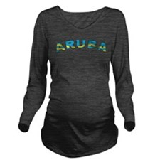 Curve Aruba Long Sleeve Maternity T-Shirt