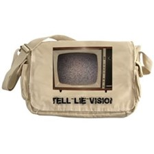 Tell Lie Vision Messenger Bag