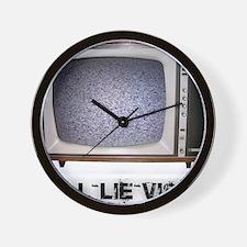 Tell Lie Vision Wall Clock